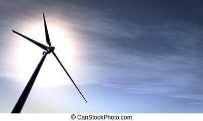Sky Wind Turbine