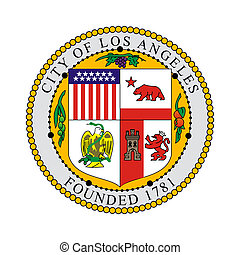 Los Angeles city seal - Seal of American city of Los...