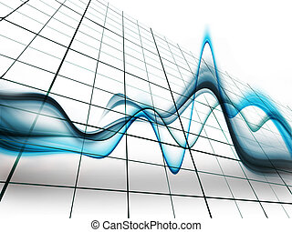 Heart Pulse - an abstract medical background