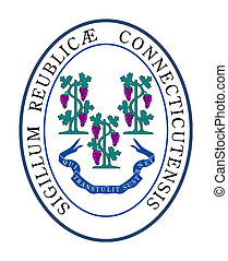 Connecticut state seal - Seal of American state of...
