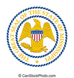 Mississippi state seal - Seal of American state of...