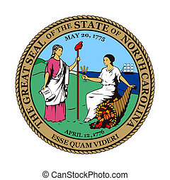 North Carolina state seal - Seal of American state of North...