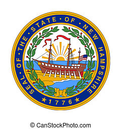 New Hampshire state seal - Seal of American state of New...