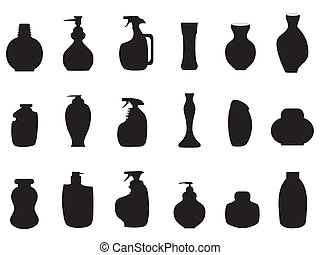 lotion icon - some lotions shape for design