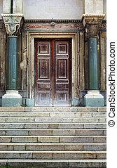 Old entrance Element of design