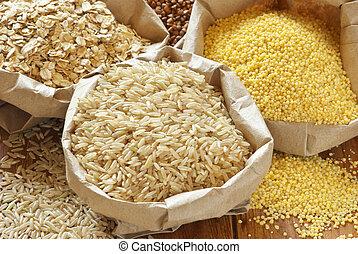 Assorted cereals