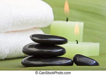 hot stone treatment (1) - hotstones for thermotherapy with...