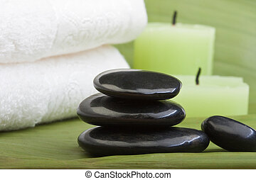 tropical green thermo-therapy 1 - hotstones, candles and...