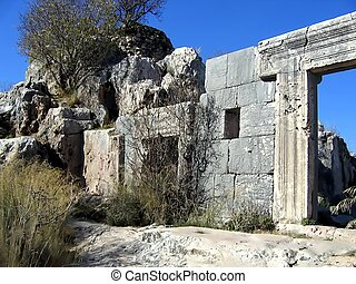 Ancient synagogue Israel - Ancient synagogue Mount Meron...