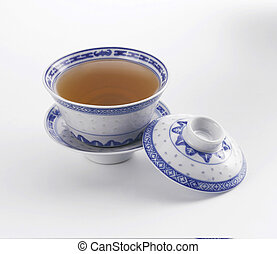 tea - stock image of cup of the chinese tea