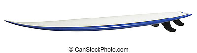 surboard -  surf board with clipping path