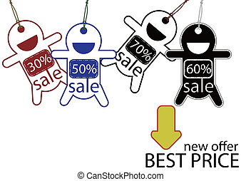 Best price for sale poster
