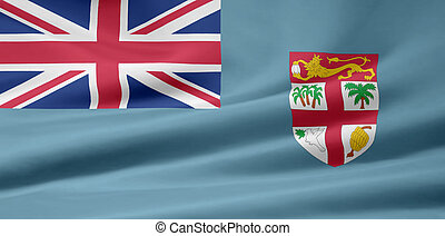 Flag of Fiji - High resolution flag of Fiji