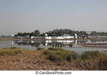 Fateh, Sagar, Lac, Udaipur