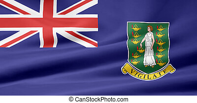 Flag of the Virgin Islands - High resolution flag of the...