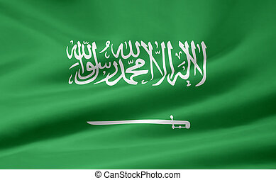 Flag of Saudi Arabia - High resolution flag of Saudi Arabia