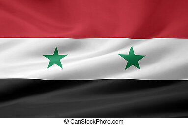 Flag of Syria - High resolution flag of Syria