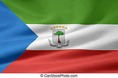 Flag of Equatorial Guinea - High resolution flag of...