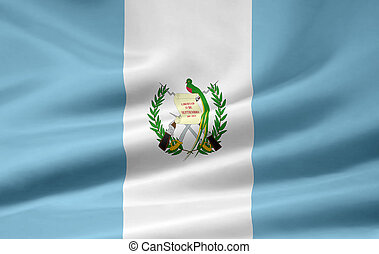 Flag of Guatemala - High resolution flag of Guatemala