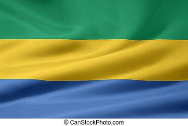 Flag of Gabon - High resolution flag of Gabon