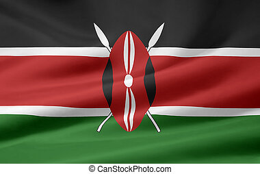 Flag of Kenya - High resolution flag of Kenya