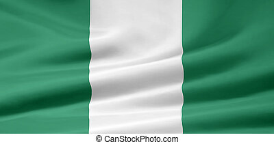 Flag of Nigeria - High resolution flag of Nigeria