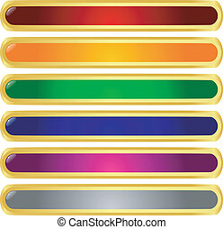 Gold buttons Illustrations and Stock Art. 55,320 Gold buttons ...