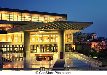 Acropolis Museum in Athens.