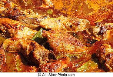 pollo,  creole