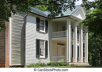 Sam Davis Home Museum - Main house on the Sam Davis American...