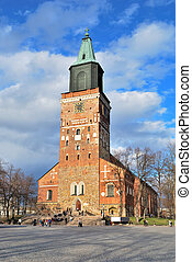 Turku Cathedral, the main church of Finland 13 century
