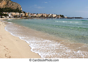 Seashore of Mondello - Seashore of mondello (Palermo Sicily)