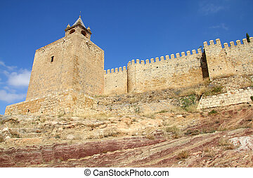 Alcazaba - Antequera in Andalusia region of Spain. Alcazaba...