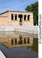 Madrid - Temple of Debod - Temple of Debod - Egyptian temple...