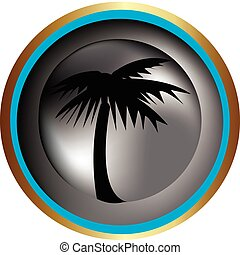 Palm Tree - Palm tree icon