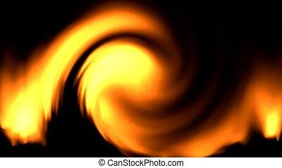 swirl fire and storm.