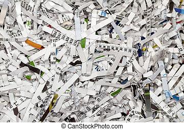 Shredded Mail