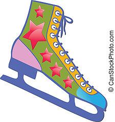 Ice Skate - Ice skate multicolor