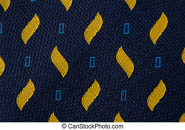 Abstract pattern ornamented textile closeup