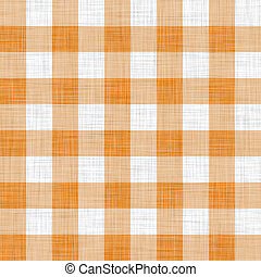 orange picnic cloth