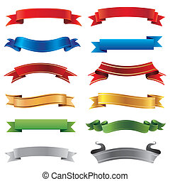 banners set - set of vector banners