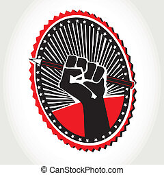 One pencil with revolution graphic Vector illustration