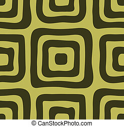 Mustard seamless background of squares