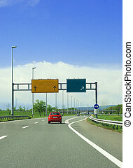highway signs - highway traffic signs