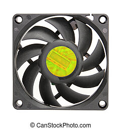 CPU Fan - A fan from a Computers CPU