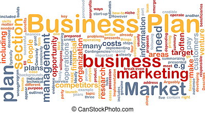 Business plan background concept - Background concept...