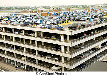 Airport parking - London Heathrow airport parking taken on...