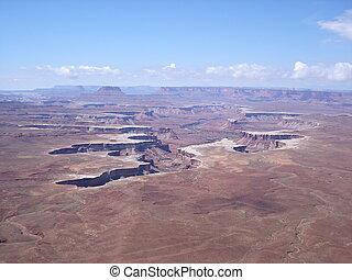 Canyonlands - A view of Canyonlands, Utah (US)
