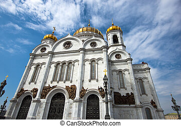 Cathedral of Christ the Saviour in Moscow