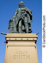 Adam Smith Monument, Edinburgh - Adam Smith (1723-90)...